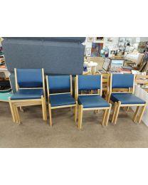 Artek tuoli 611, sininen, 4 kpl