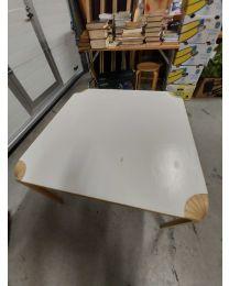 Artek viuhkapöytä MX800B, valkoinen, koko 90x90x56 cm