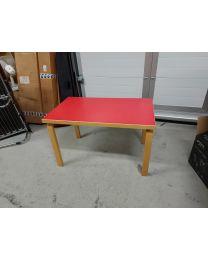 Artek 80B 100x60x60 cm punainen pöytä