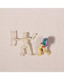 Lännenmies-leluhahmot 2kpl
