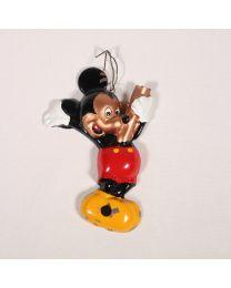 Vanhan metallisen Mikki Hiiri -valaisimen runko (Disney)