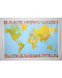 JULISTE Maailmankartta (ajalta jolloin oli maa nimeltä Neuvostoliitto)