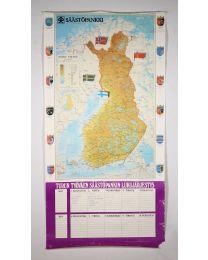 JULISTE Suomen kartta
